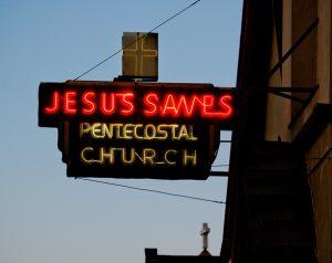 Jesus Saves_Berg_Pentekostalismus