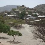 Alitena an der eritreischen Grenze