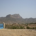 Grenzberg nach Eritrea.