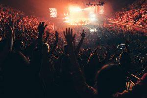 Konzert der pfingstlichen Band Hillsong in Inglewood, L.A., Mai 2016. Foto: <a href=