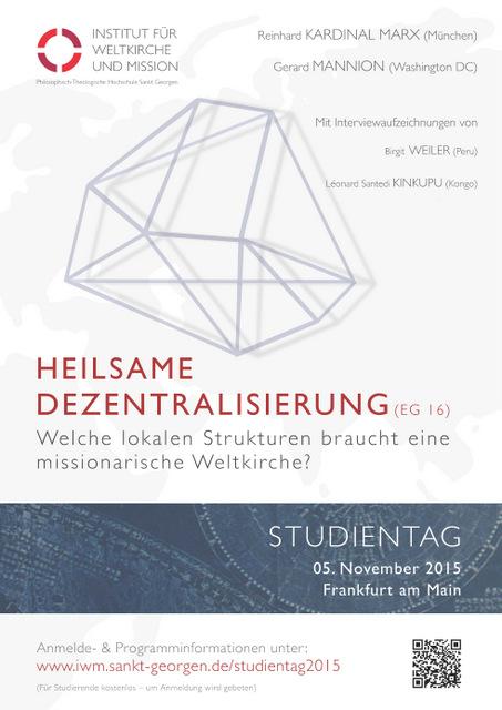 Studientag 2015 Poster