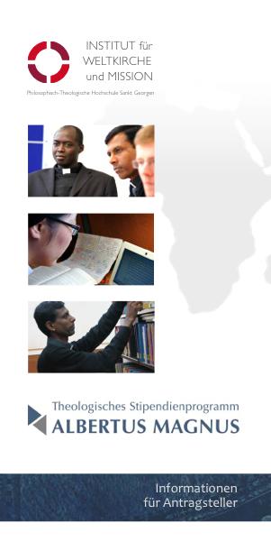 Studienprogramm Vorschau Flyer deutsch