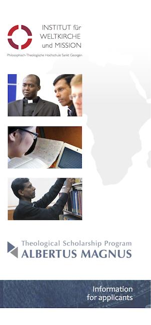 Studienprogramm Vorschau Flyer englisch