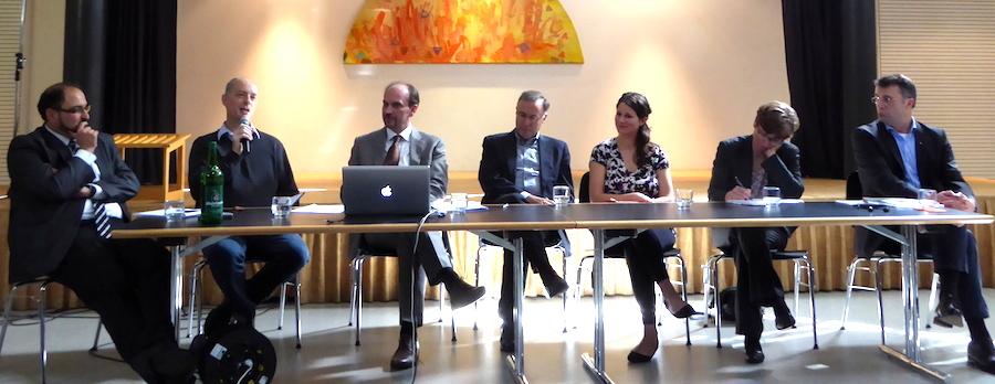 Studientag migratio 2015: Podiumsdiskussion